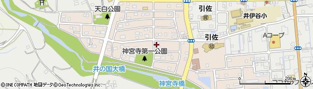 静岡県浜松市北区神宮寺町周辺の地図