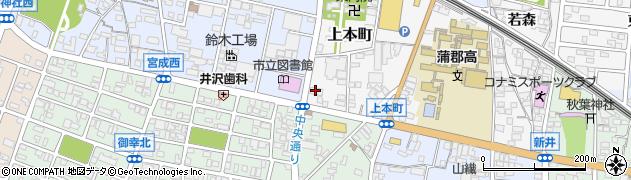 うえむら予約受付周辺の地図