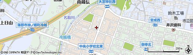 笹や周辺の地図