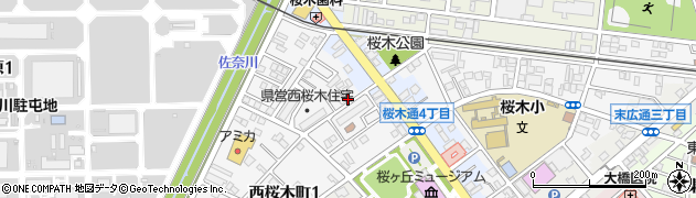 竹屋周辺の地図
