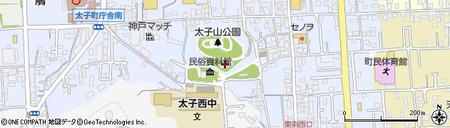 児童館周辺の地図