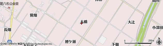 愛知県豊橋市賀茂町(大橋)周辺の地図