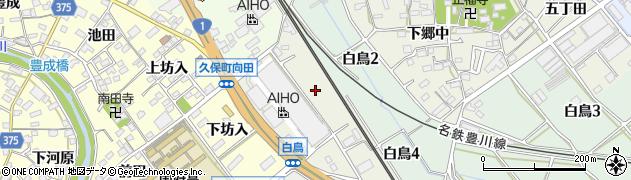 愛知県豊川市白鳥町(防入)周辺の地図