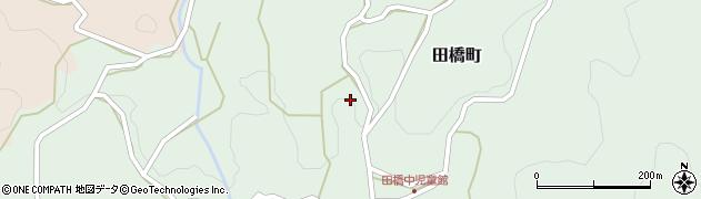 島根県浜田市田橋町(田橋中)周辺の地図