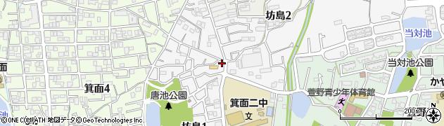 便利屋バラエティ北大阪周辺の地図