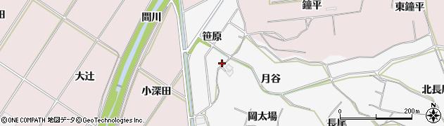 愛知県豊橋市石巻小野田町(笹原)周辺の地図