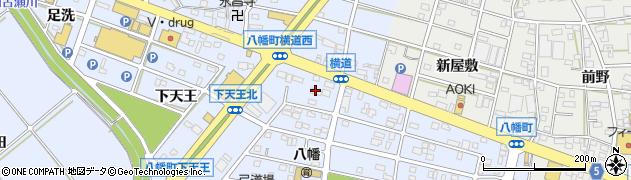 愛知県豊川市八幡町(弥五郎出口)周辺の地図