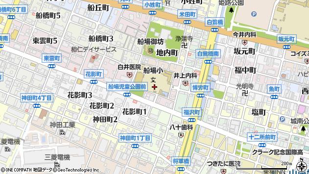 〒670-0046 兵庫県姫路市東雲町の地図