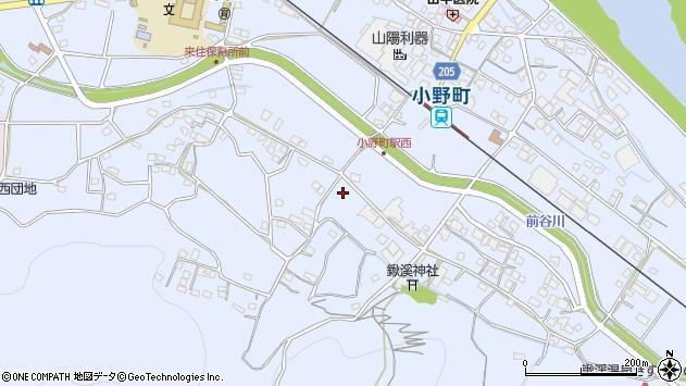 〒675-1344 兵庫県小野市下来住町の地図