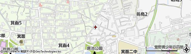 日本パーカライジング社宅周辺の地図