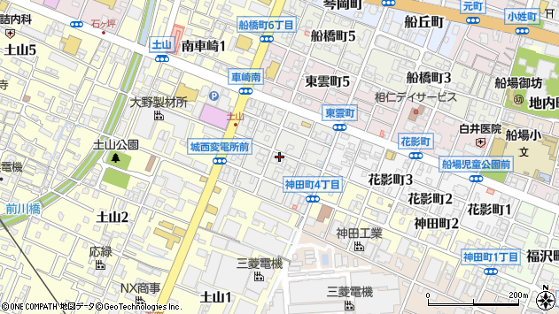 〒670-0995 兵庫県姫路市土山東の町の地図