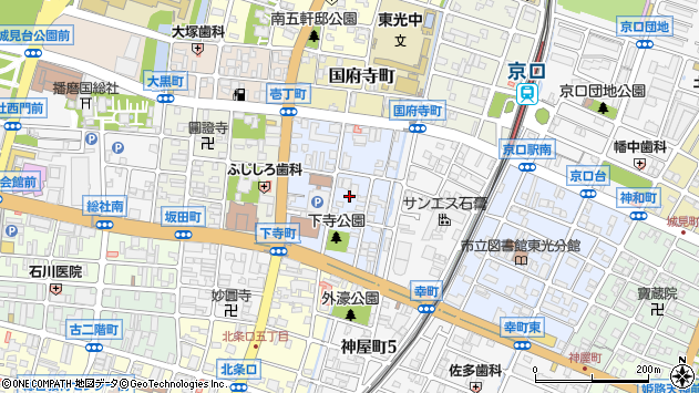 〒670-0932 兵庫県姫路市下寺町の地図