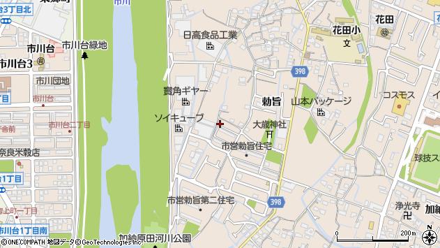 〒671-0254 兵庫県姫路市花田町勅旨の地図