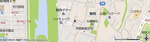 兵庫県姫路市花田町(勅旨)周辺の地図