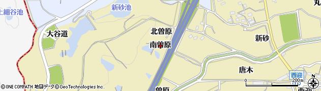 愛知県武豊町(知多郡)冨貴(南曽原)周辺の地図