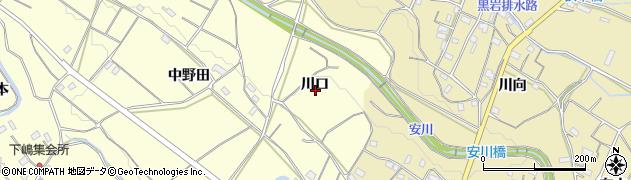 愛知県豊橋市石巻平野町(川口)周辺の地図