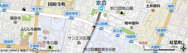 兵庫県姫路市天神町周辺の地図