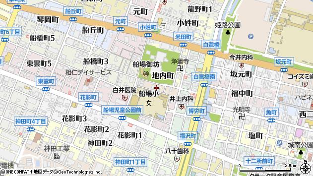 〒670-0045 兵庫県姫路市片田町の地図