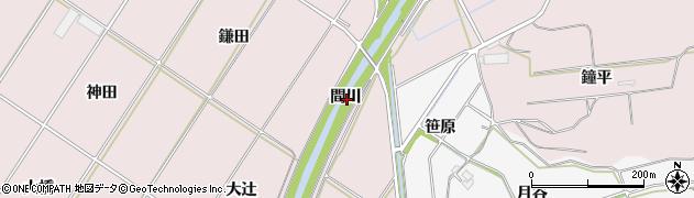 愛知県豊橋市賀茂町(間川)周辺の地図