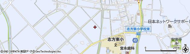 兵庫県加古川市志方町(細工所)周辺の地図