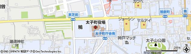 兵庫県太子町(揖保郡)周辺の地図