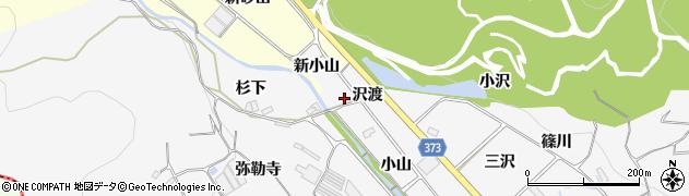 愛知県豊川市御津町豊沢(小山)周辺の地図