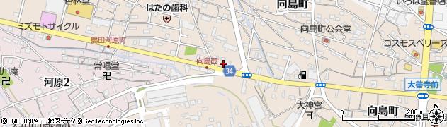 焼旨周辺の地図