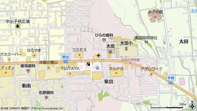 〒671-1521 兵庫県揖保郡太子町東出の地図
