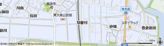 愛知県武豊町(知多郡)東大高(知里付)周辺の地図