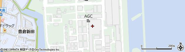 愛知県武豊町(知多郡)旭周辺の地図