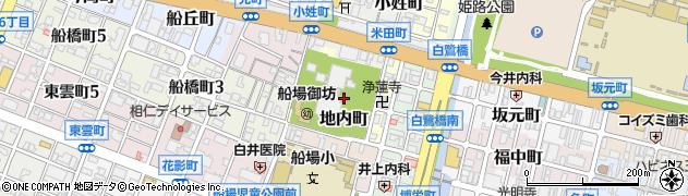 兵庫県姫路市地内町周辺の地図