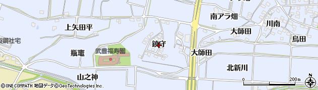 愛知県武豊町(知多郡)東大高(鎮守)周辺の地図