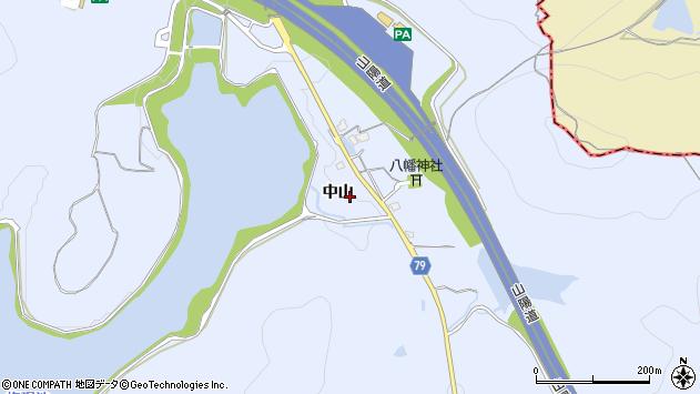 〒675-1225 兵庫県加古川市平荘町中山の地図