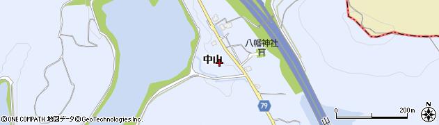 兵庫県加古川市平荘町(中山)周辺の地図