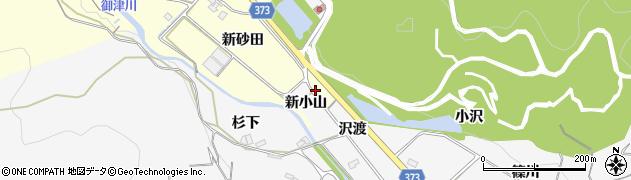 愛知県豊川市御津町金野(砂田)周辺の地図