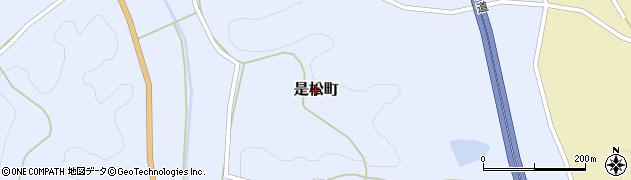 広島県庄原市是松町周辺の地図