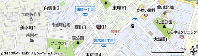 美輪周辺の地図