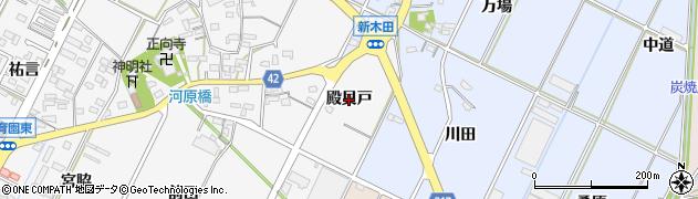 愛知県西尾市吉良町木田(殿貝戸)周辺の地図