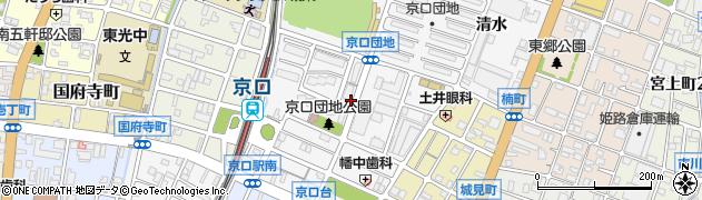 兵庫県姫路市城東町(野田)周辺の地図