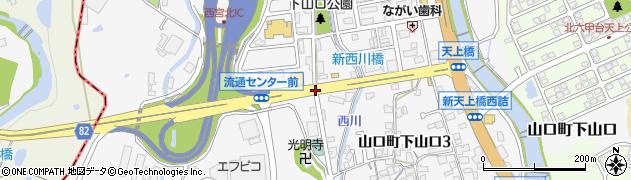 流通センター東周辺の地図