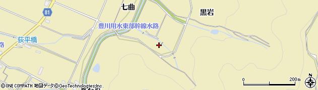 愛知県豊橋市石巻萩平町(愛宕沢)周辺の地図