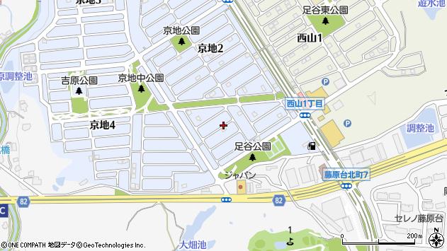 〒651-1304 兵庫県神戸市北区京地の地図