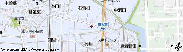愛知県武豊町(知多郡)東大高(砂畑)周辺の地図
