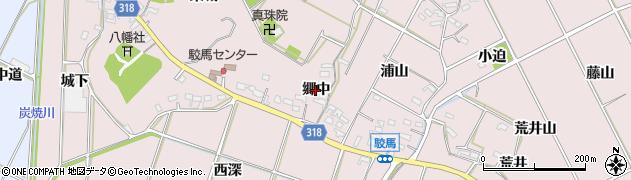 愛知県西尾市吉良町駮馬(郷中)周辺の地図