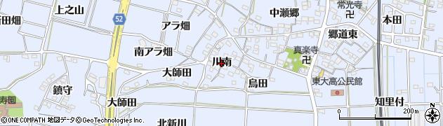 愛知県武豊町(知多郡)東大高(川南)周辺の地図