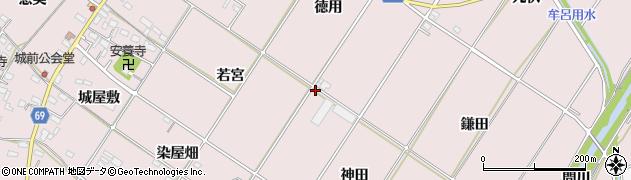 愛知県豊橋市賀茂町(神田)周辺の地図
