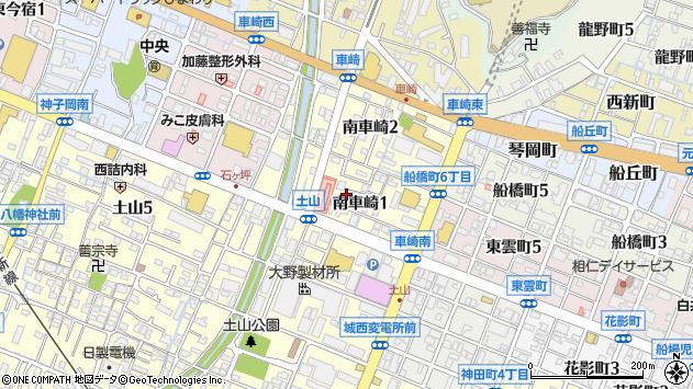 〒670-0053 兵庫県姫路市南車崎の地図