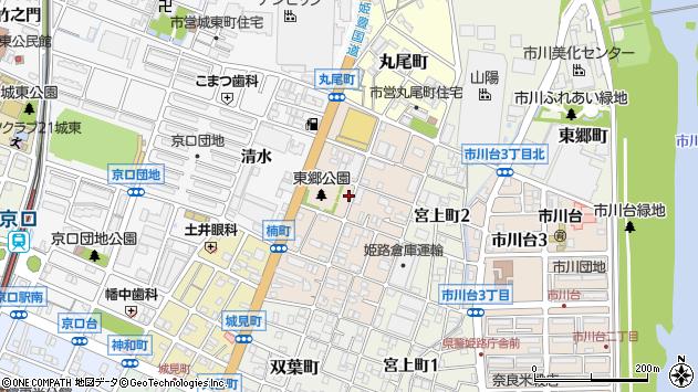 〒670-0826 兵庫県姫路市楠町の地図