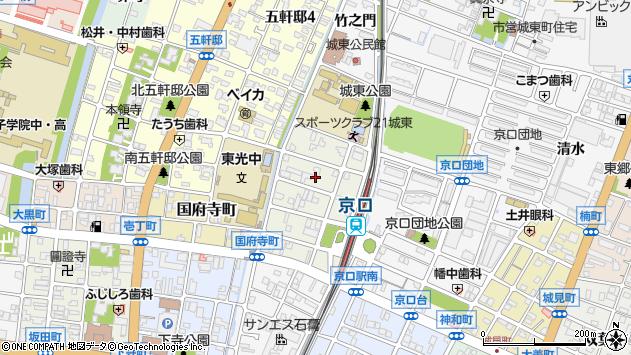 〒670-0851 兵庫県姫路市京口町の地図