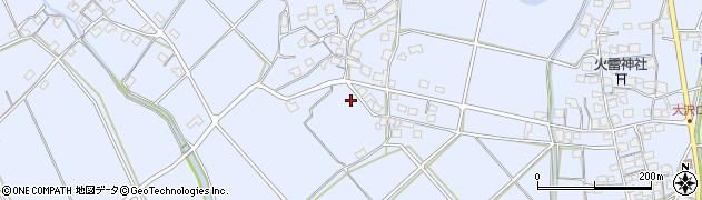 兵庫県加古川市志方町(大澤)周辺の地図